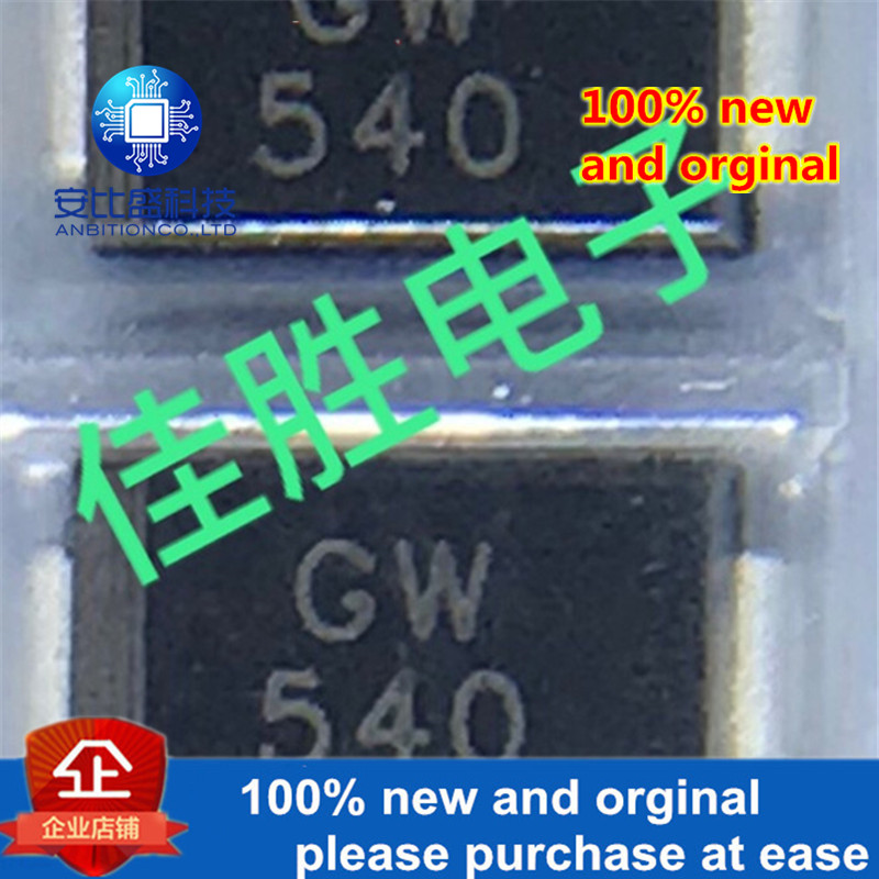 50pcs 100% New And SM540A 5A40V D0214AC Silk-screen GW540 Schottky In Stock