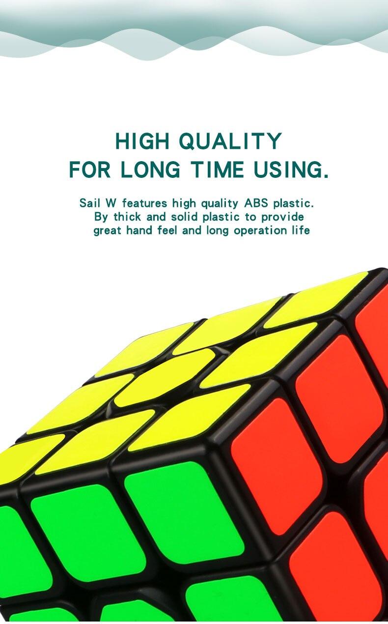 Qiyi vela w 3x3x3 velocidade magia neo