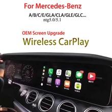 Wireless Apple CarPlay For Mercedes C300 With NTG 5.0 CarPlay Video Interface Cameras Integration Kits GPS Nav/Music/Call