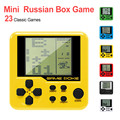 Электронная игра-головоломка  мини-игра  ручной плеер  Детская игровая консоль  многоцветная Ретро игровая консоль для детей
