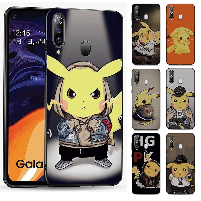 Phone Case for Samsung Galaxy J4 Core J6 Note S20 Plus Ultra A51 A71 A81 A91 A01EU US A41 or J7Duo J8 Cover Playful cute Pikachu