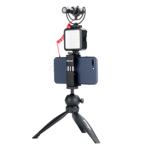 Image 3 - 写真撮影の補助光マイクエクステンションバースマートフォン用一眼レフカメラzhiyun dji osmo 4/ポケットジンバルトリプルホット靴マウント