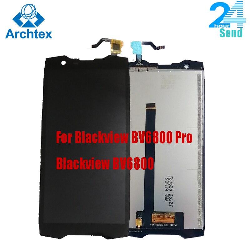 Для оригинального Blackview BV6800 BV6800 Pro ЖК-дисплей + кодирующий преобразователь сенсорного экрана в сборе Замена 5,7 ''FHD 18:9 IPS дисплей