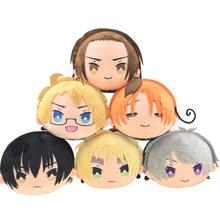 Anime eixos poderes hetalia aph yao wang feliciano vargas cosplay bonito pelúcia mascote bonecas brinquedo travesseiro fantoche presente de natal