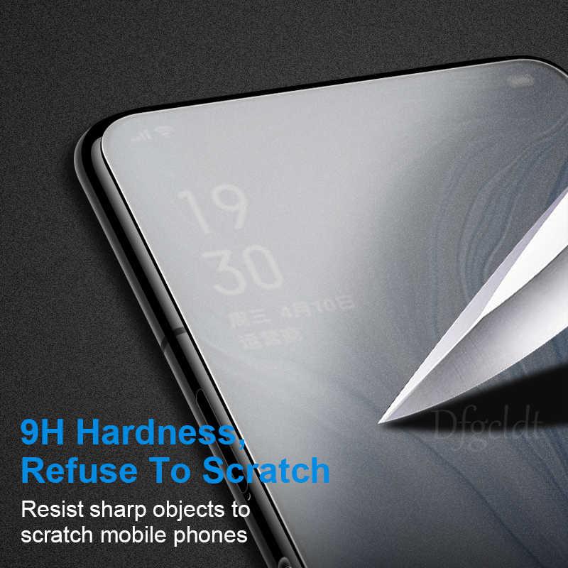 なし指紋マット強化ガラス OPPO リノ 10x ズーム K3 A9x A9 A1K Realme 3 プロ X ライトスクリーンプロテクターすりガラスフィルム