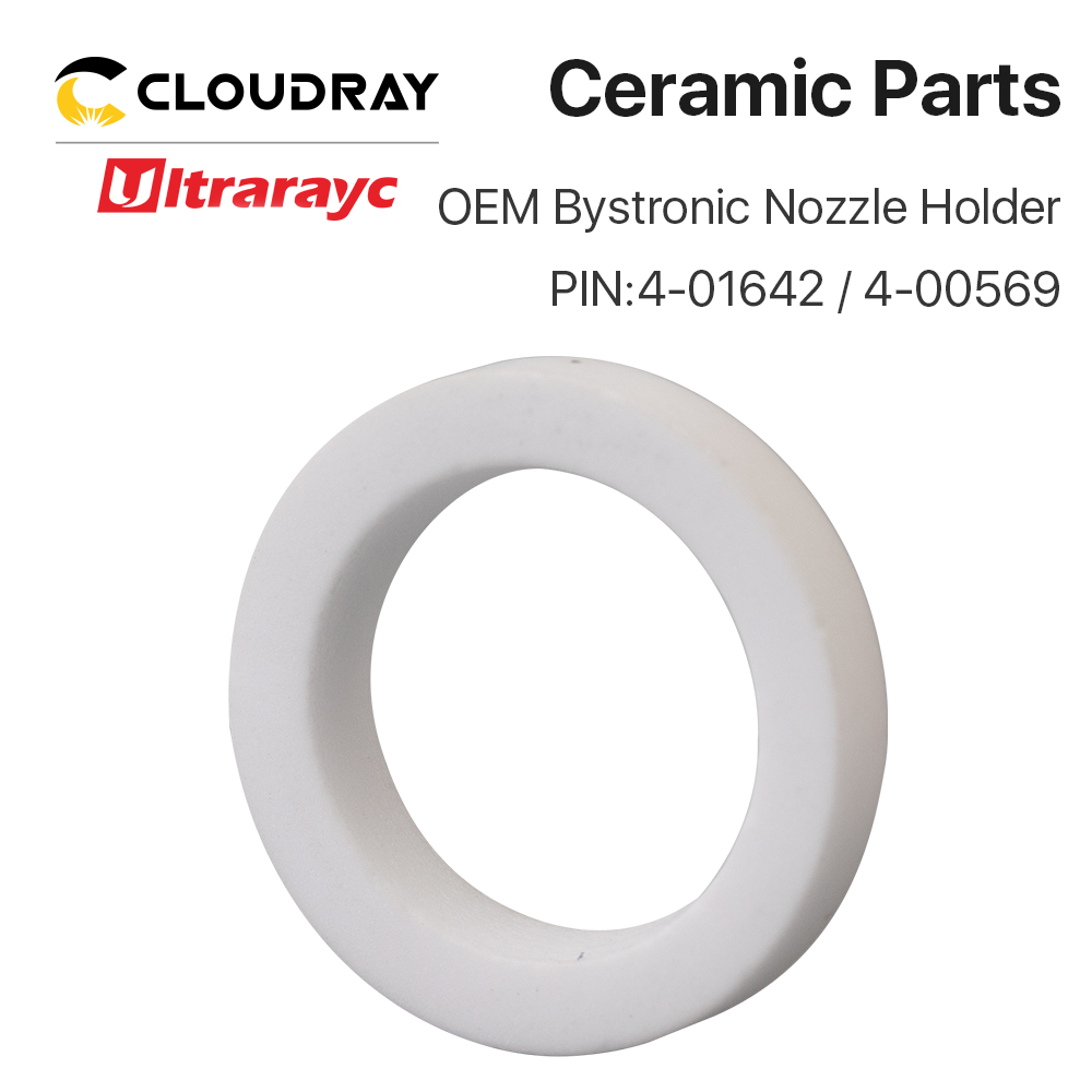 Ultrarayc OEM Bystronic Ceramic Seal Ring For Fiber Cutting Head PIN 4-01642/4-00569