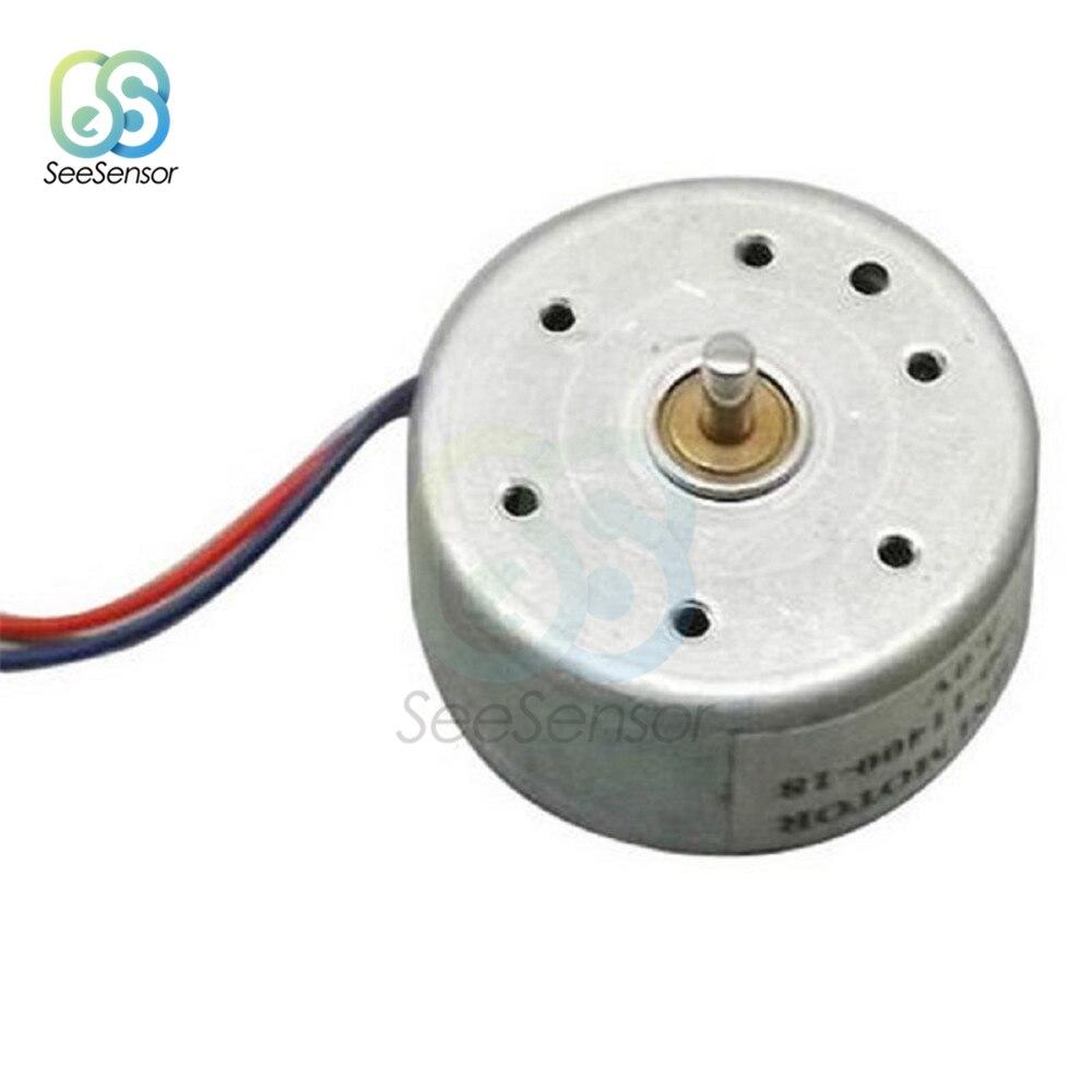 1X DC 6V 10RPM Micro Velocidad Reducción Motor Mini Caja De Engranajes Motor con 2 termina SX