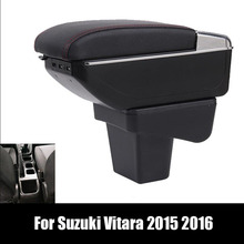 Cup-Holder-Product Car-Armrest-Box Car-Styling-Accessories Suzuki Vitara Central-Storage-Content-Box