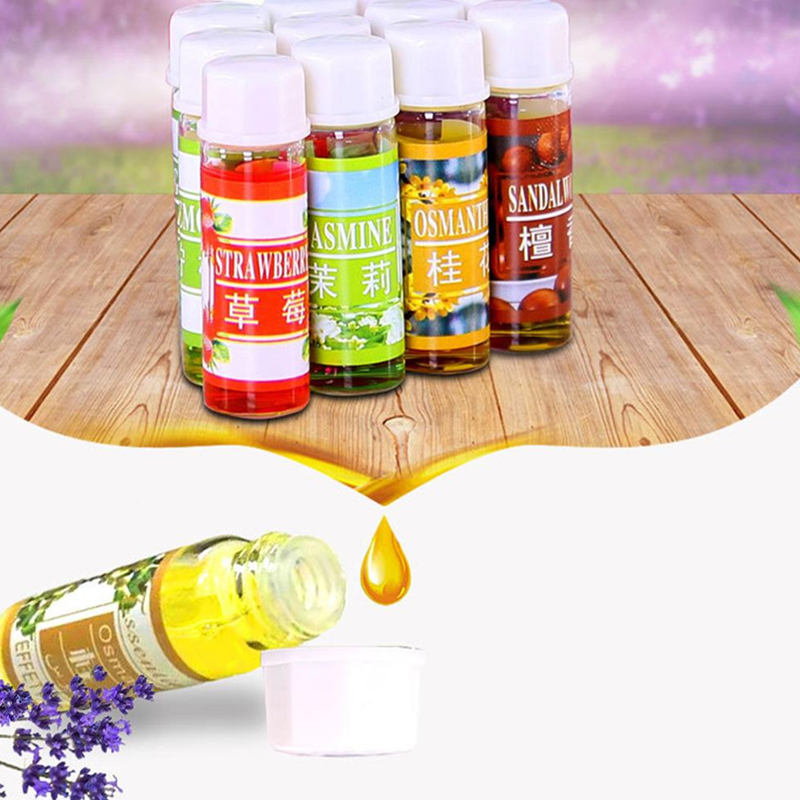12 Bottles/set Essential Oil For Diffuser Aromatherapy Oil Humidifier 6 Kind 5ML Fragrance Aromatherapy Oil Natural Spa Oil