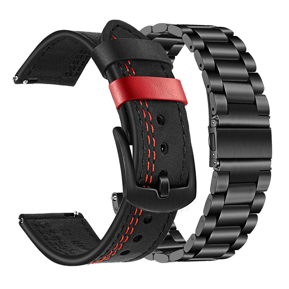 For Galaxy Watch 46mm/Gear S3 Frontier/Classic Band Sets, 22mm 20mm Bracelet Strap For Samsung Galaxy Watch Active 2 40mm 44mm
