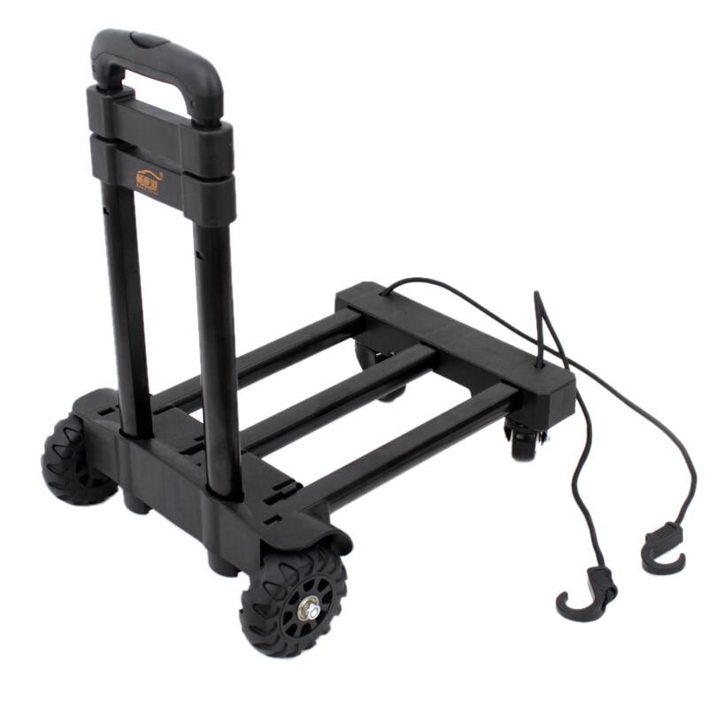 Taşınabilir Katlanır El Arabası 360 Derece Döner Tekerlekler Arabası Itme Alışveriş Sepeti Katlanabilir Dolly Ekipmanları Taşıyıcı 120 Ibs Kapasiteli