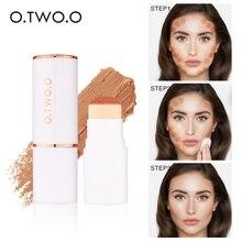 O. TWO. O, консилер с воздушной подушкой, палочка, полное покрытие, контур, для лица, стойкий макияж, основа, скрытие, бронзатор, косметика