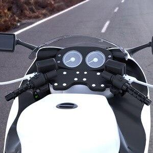 Image 2 - WUPP mango de calefacción eléctrica para motocicleta, accesorio con interruptor, pantalla digital, cubierta de mango, temperatura ajustable, para invierno, 12V