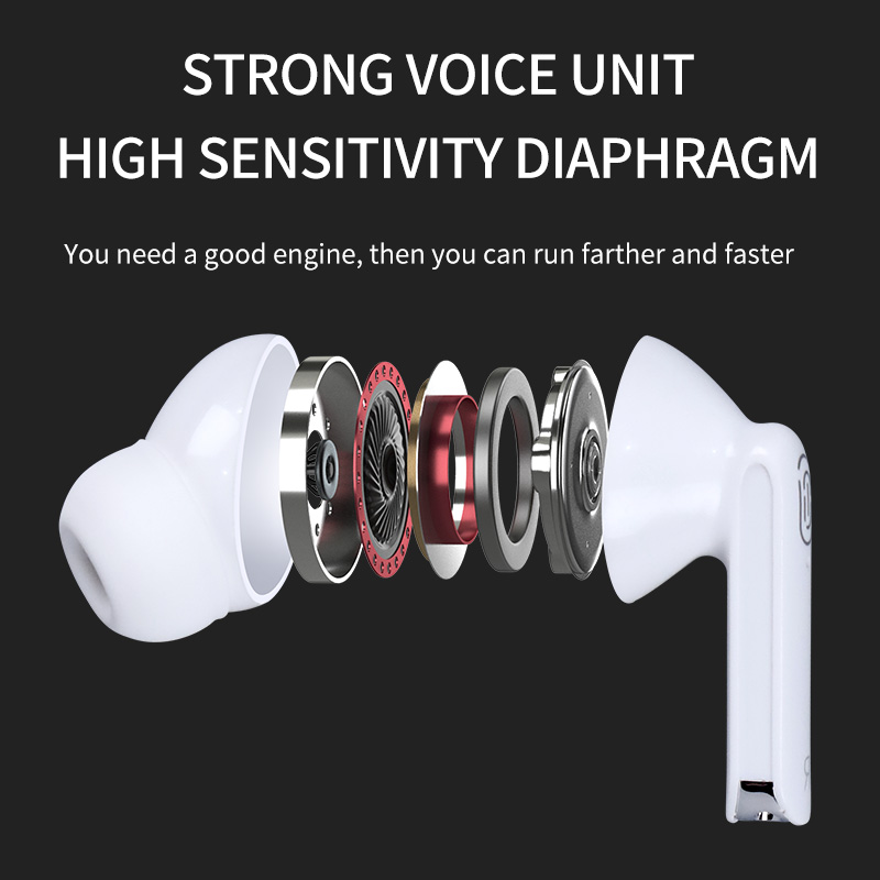 lowest price QCY T1C NEW Bluetooth V5 0 Wireless Headphones Bluetooth Earphones 3D Stereo Sound Earbuds with Dual Microphone and Charging box