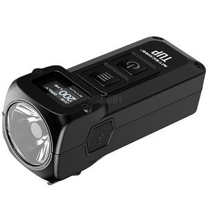 Image 3 - NITECORE TUP Llavero metálico de acero inoxidable, 1000 lúmenes, pantalla OLED, EDC, recargable vía USB, botón de luz, Envío Gratis