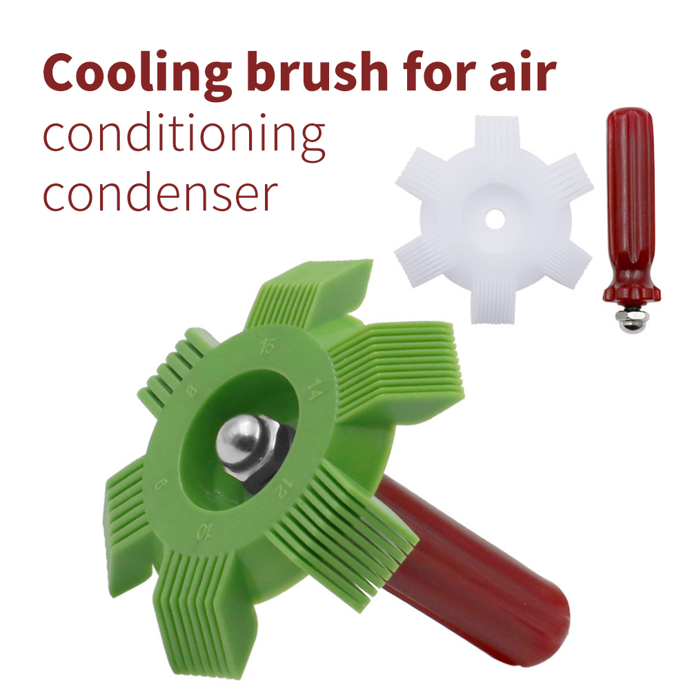 Portable Car A/C Radiator Condenser Fin Comb Air Conditioner Coil Straightener Cleaning Tool Auto Cooling System Repair Tools