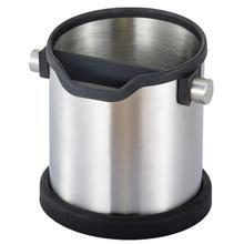 Нержавеющая сталь кофе стук Бин баррель ведро Бариста Эспрессо стук молотый стук коробка съемный стук бар противоскользящие кофейники