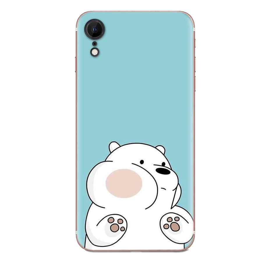 We Ice Bare Bears For Xiaomi Redmi Note 2 3 3S 4 4A 4X 5 5A 6 6A Pro Plus Soft Case Protective