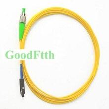 Cable de conexión de fibra Cable MU FC/APC FC/APC MU/UPC SM simple GoodFtth 1 15m