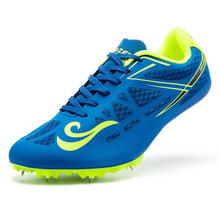 Field-Shoes Sneakers Track Athletic-Spikes And Breathable Men for Women Nails Unisex