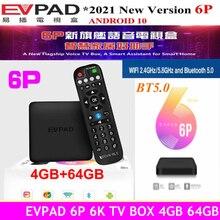 Boîtier tv EVPAD 5MAX + 128 go, 6P, 64 go/5s/5P, pour corée, japon, SG, EURO, hk, tw CA, US, thaïlande, Vietnam