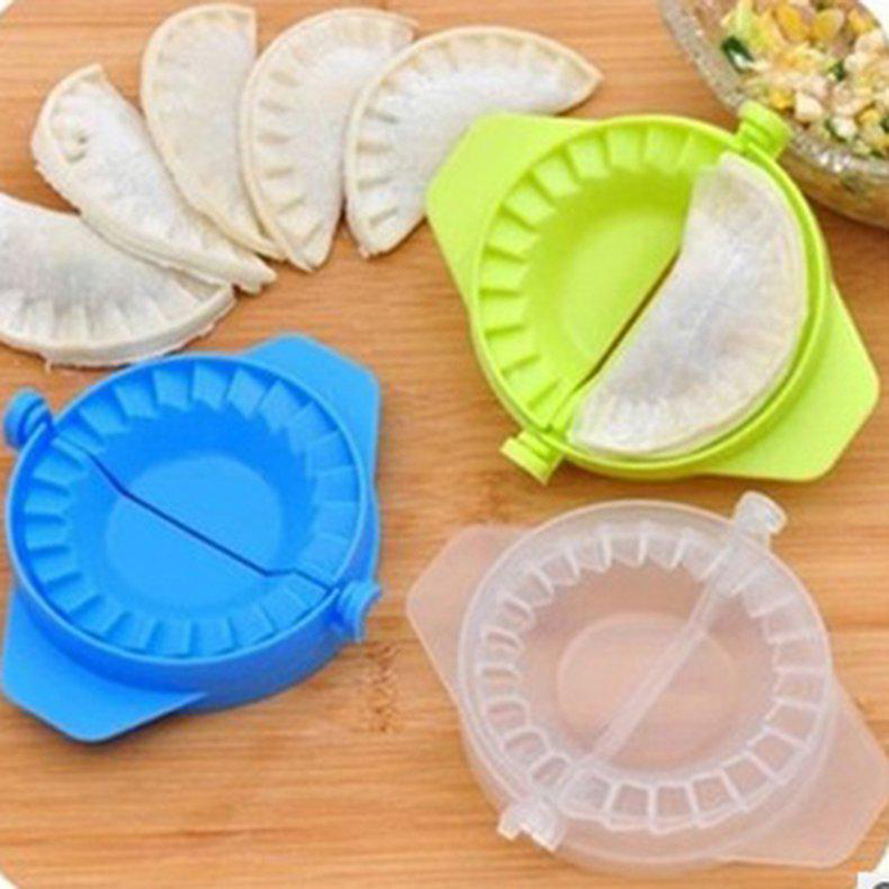 Dumpling Molds Tools Plastic Dough Press Dumpling Ravioli Mould Maker Tool Kitchen Cooking Pastry Chinese Food Jiaozi Maker