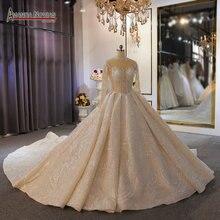 باقة الزفاف 2020 جميلة الدانتيل فستان الزفاف