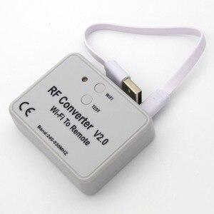 Image 3 - محول واي فاي عالمي للتحكم عن بعد 330 433 868MHz أندرويد IOS RF واي فاي للتحكم عن بعد واي فاي لتحويل RF عن بعد 240 ~ 930MH
