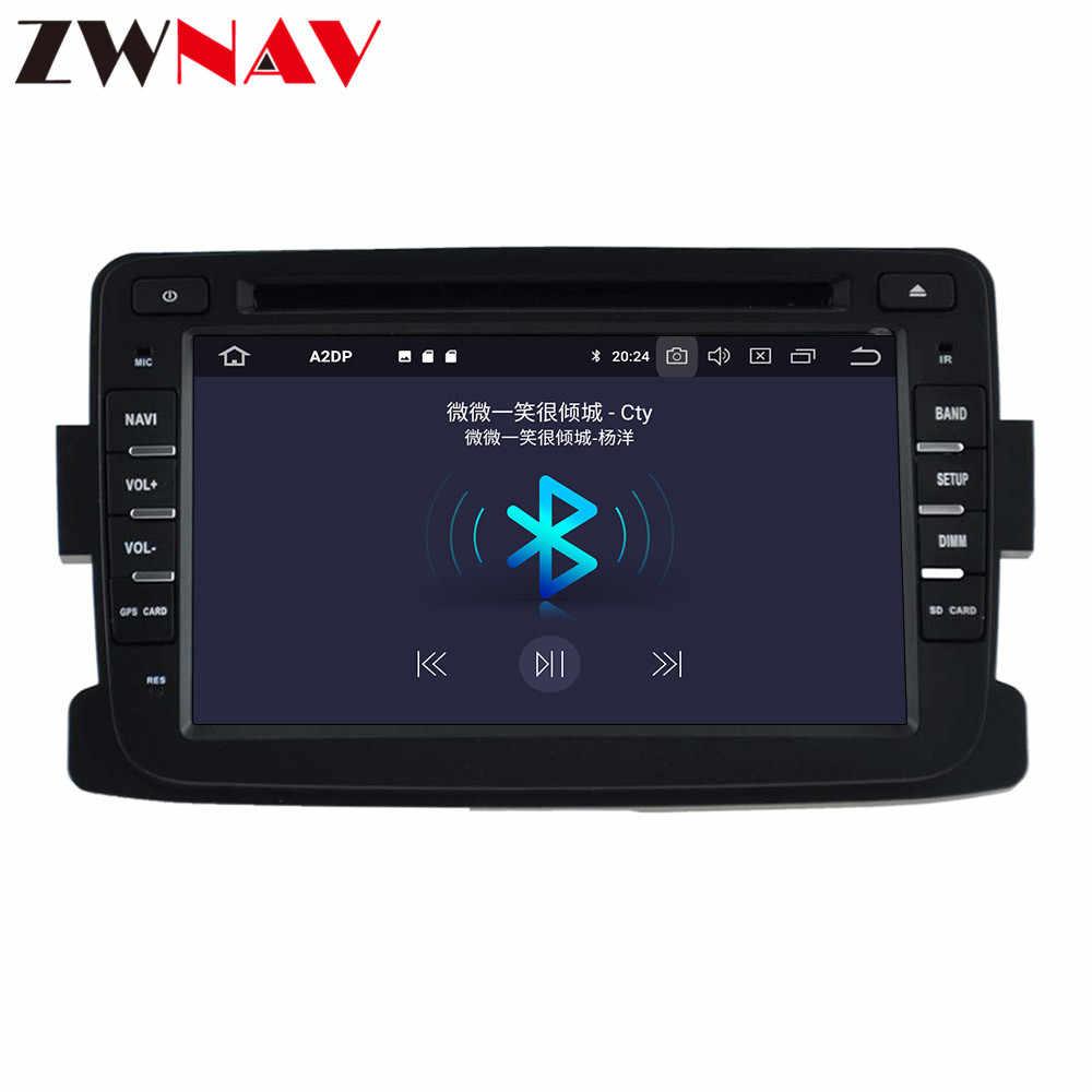 DSP 2 + 16 Android 9,0 автомобильный стерео dvd-плеер gps для DACIA sandero Duster Renault Captur Lada Xray 2 Logan Видео Мультимедиа Радио