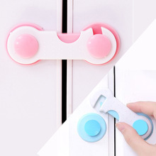 5pcs/lot Children Security Protector Baby Care Multi-function Child Baby Safety Lock Cupboard Cabinet Door Drawer Safety Locks