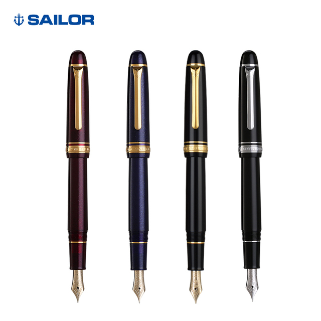 Japonya orijinal SAILOR 1911 11 1031 14k altın kalem yeni doğru su kontrol iyi hediye