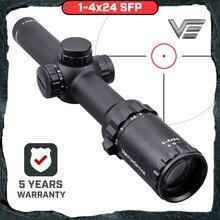 Векторная оптика Arbiter 1-4x24 охотничий прицел длинный глаз рельеф с подсветкой Красный телескопический прицел подходит 30-06 308 AR15 M4