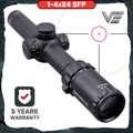 ベクトル光学 Arbiter 1-4x24 ハンティングライフル銃ロングアイレリーフイルミネーション赤テレスコピックサイトスコープフィット 30-06 308 AR15 m4