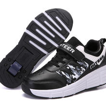 EUR 31-42 Children Junior Roller Skate Shoes Kids Sneakers W