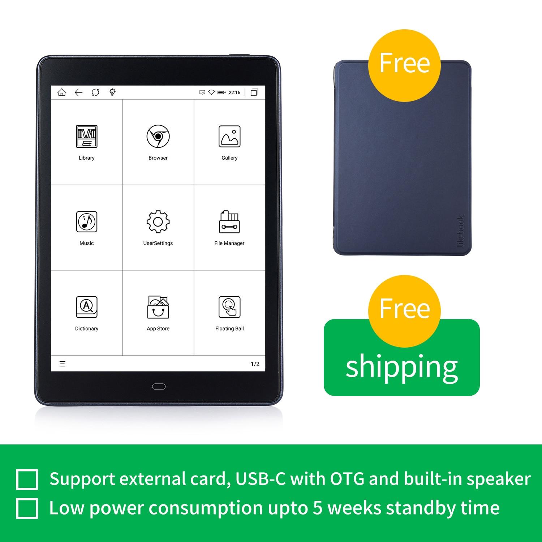 Likebook-lector de libros electrónicos P78, pantalla de 7,8 pulgadas, Android, bisel plano, 2GB/32GB, con tarjeta SD a 256GB, novedad 1