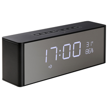 Alarm Clock Bluetooth Speaker Portable Wireless 3D Surround Stereo Speakers Support Handsfree TF FM AUX LED Display цена 2017