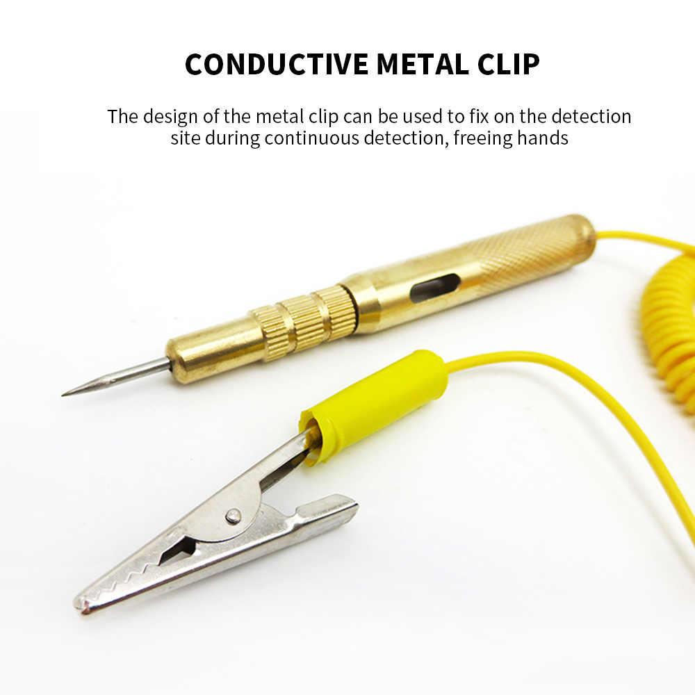 6-12-24V voiture auto test de tension /électrique lampe de lampe de testeur de circuit sonde de d/étecteur Testeur de circuit stylo