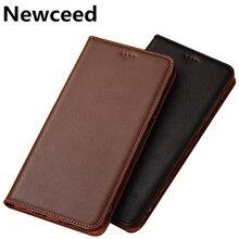 Коровий спилок кожаный чехол для телефона с отделением для кредитных карт держатель для Nokia 7,2 чехол для телефона для Nokia 7,1/Nokia 7,1 Plus флип-чехол с подставкой