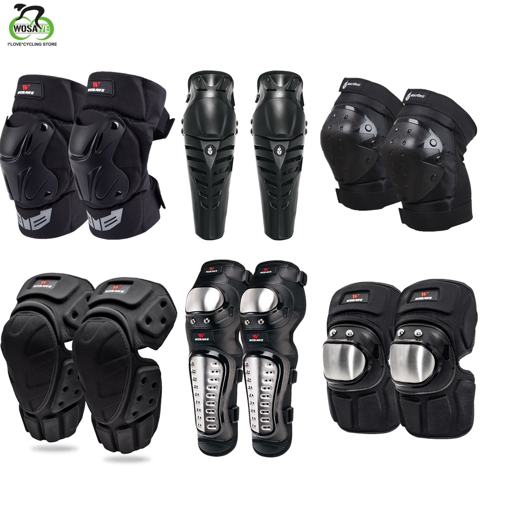 WOSAWE Winter Free Size 2017 Knee Pads Windproof Motorcycle Motocross Racing Sports Safety Kneepads Adjustable Protective Gear