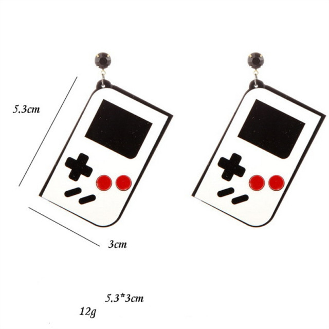 Game Machine Earrings 1