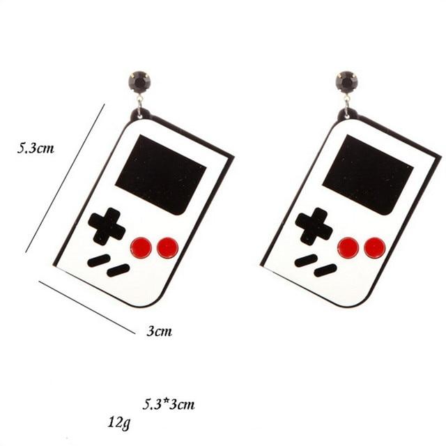 Game Machine Earrings 1