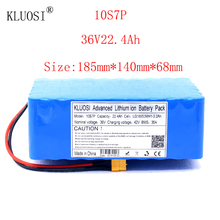 KLUOSI 36V 10S7P 22.4Ah 1200W High Power Capacity Li-ion Battery Pack for Electric Car Bicycle Motor Scooter 35A Balanced BMS kluosi 36v 10s7p 22 4ah 1200w high power capacity li ion battery pack for electric car bicycle motor scooter 35a balanced bms