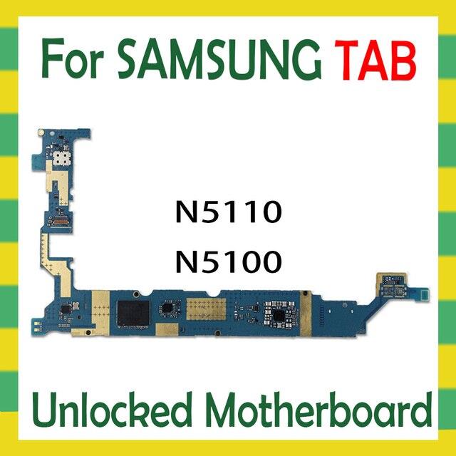 ロック解除マザーボード三星銀河タブの注意8.0 N5110 N5100無線lan 3グラムタブレットロジックボードアンドロイドos母ボード