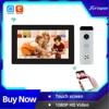 Joytimer Home Tuya Smart Video Intercom System 1080P Full Touch Screen Video Door Phone 130° Super Wide-Angle Camera