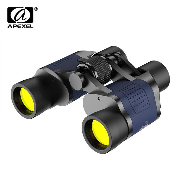 APEXEL 60x60 16000M HD Binoculars Telescope High Power Binoculars Night Vision Telescope for Outdoor Hunting Sightseeing 1