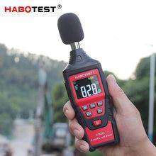 Medidor de nível de som medidor de decibel sensor de ruído hadotest ht622a indicador de medição ruído mini digital decibel monitor db registador