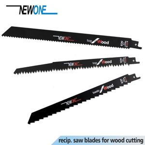 NEWONE 5pcs HCS reciprocating saw woodworking cutting saw blade saber saw blade for wood cutting power tool accessory saw blade
