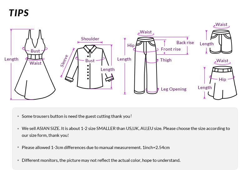 Women's clothing description