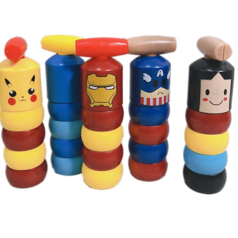 6 Models Immortal Daruma Unbreakable Man Magic Toy Magic Tricks Close Up Stage Magic Props Comedy Mentalism Cartoon Characters