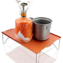 Folding-Table Aluminum-Plate Outdoor Barbecue Ultralight Mini